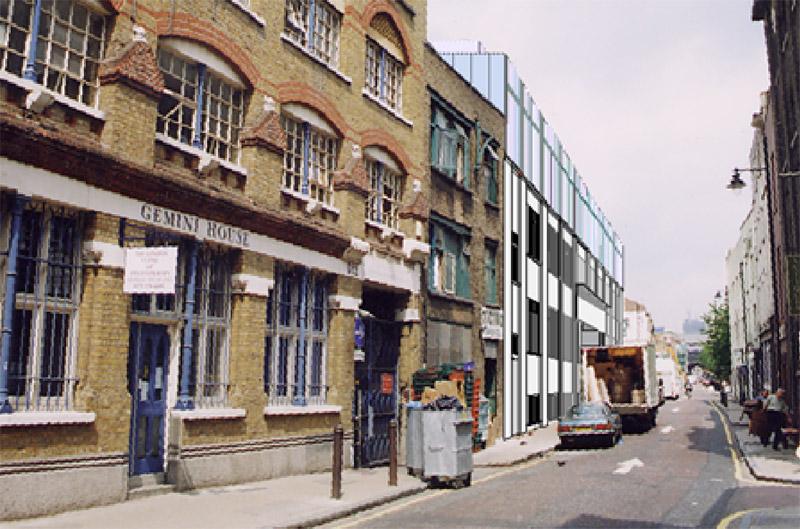 Robert Barnes Architects Housing 210 Bermondsey Street
